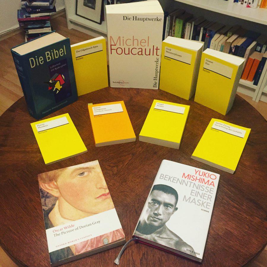 Vor der Erfindung der Homosexualität -Schwule Literatur als Literatur der Ikonen